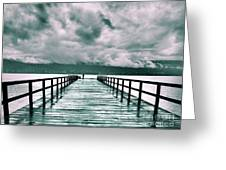 Rainy Days In Summerland 2 Greeting Card