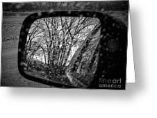Rainy Reflections Greeting Card