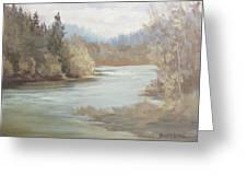 Rainy River Greeting Card