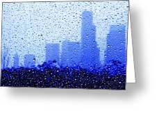 Rainy Seattle C010 Greeting Card