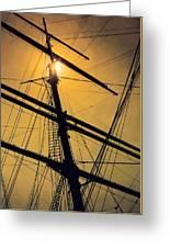 Raise The Sails Greeting Card