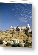 Rajasthan Near Bari Sadri  Greeting Card
