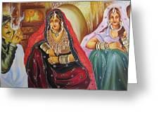 Rajasthani People Greeting Card