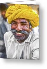 Rajput High School Teacher - Paint Greeting Card