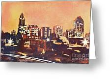 Raleigh Sunrise IIi Greeting Card