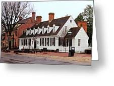 Raleigh Tavern 2 Greeting Card