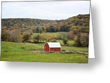 Ram Hollow Barn Greeting Card