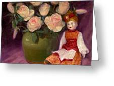 Ramblin Rose Greeting Card