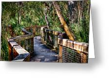 Rambling Bridge Greeting Card