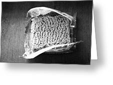 Ramen- Black And White Photography By Linda Woods Greeting Card