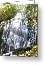 Ramona Falls-ii Softer Greeting Card