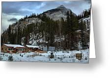 Rampart Creek Hostel Greeting Card