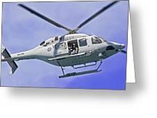 Ran N49 Bell 429 Global Ranger N49-048 Greeting Card