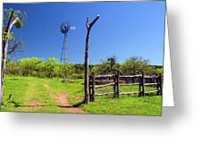Ranch At Click Gap II Greeting Card