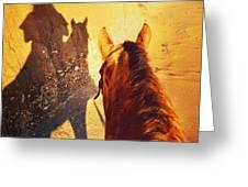 Ranch Girl Selfie Greeting Card