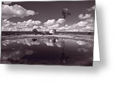 Ranch Pond New Mexico Greeting Card