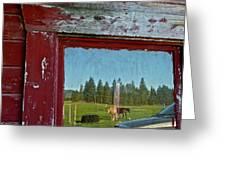 Ranch Reflection Greeting Card