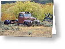Ranch Truck II Greeting Card