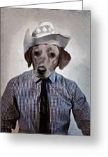 Rancher Dog Greeting Card