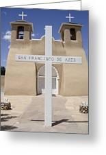 Ranchos De Taos Greeting Card