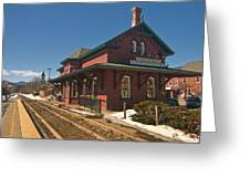Randolf Depot Greeting Card