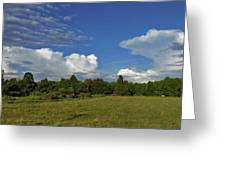 Randolph County Evening Storms Greeting Card