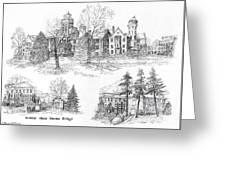 Randolph Macon College Greeting Card