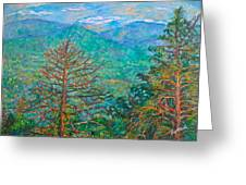 Ranges By Arnold Valley Greeting Card