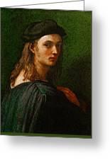 Raphael Portrait Of Bindo Altoviti Greeting Card