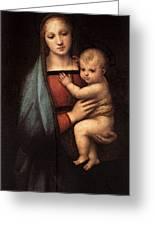 Raphael The Granduca Madonna Greeting Card