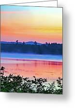 Raquette Sunrise 2 Greeting Card