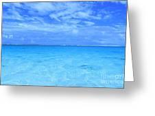 Rarotongan Shores Greeting Card