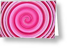 Rasberry Ripple  Greeting Card