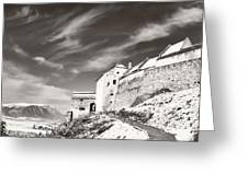 Rasnov Fortress Greeting Card