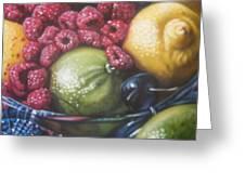 Raspberry Lime Greeting Card