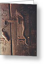 Rat And Snake Greeting Card
