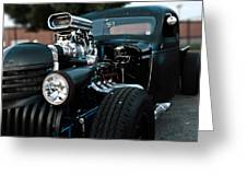 Rat Rod Coupe Greeting Card