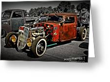 Rat Rod For Sale 2 Greeting Card