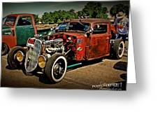 Rat Rod For Sale Greeting Card