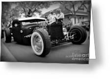 Rat Rod Looker Greeting Card
