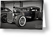 Rat Rod Scene 3 Greeting Card