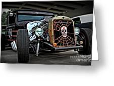 Rat Rod Style Greeting Card