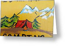 Rather Be Camping  Greeting Card