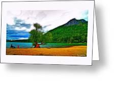 Rattlesnake Lake Greeting Card