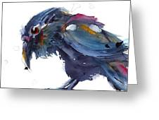 Raven 2 Greeting Card