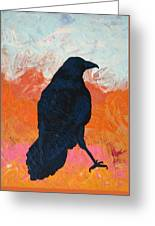 Raven II Greeting Card