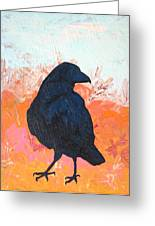 Raven IIi Greeting Card