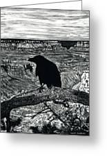 Raven Spirit Greeting Card