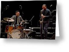 Ravi Coltrane 2 Greeting Card