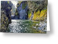 Ravine Of Color Greeting Card